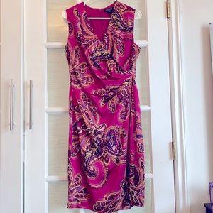 Ralph Lauren paisley print dress - Sz 10